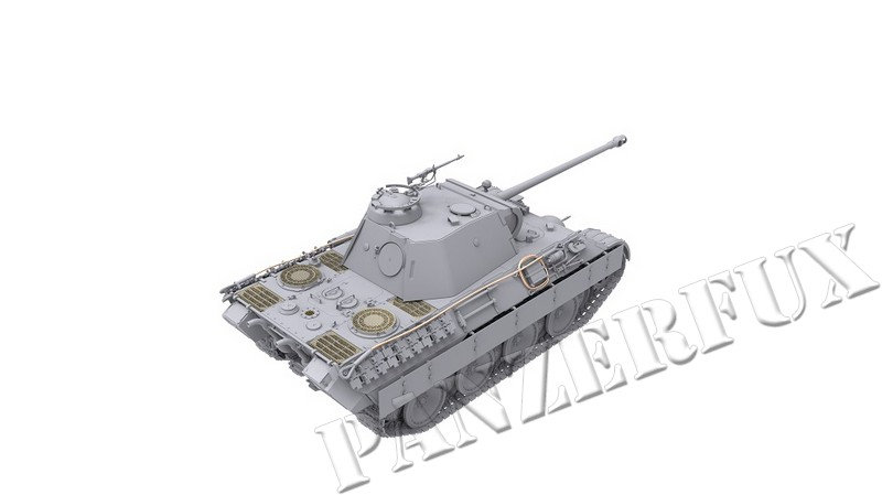 1/35 PzKpfw.V Panther A Early/Mid, Das Werk 35010 - Bild 5