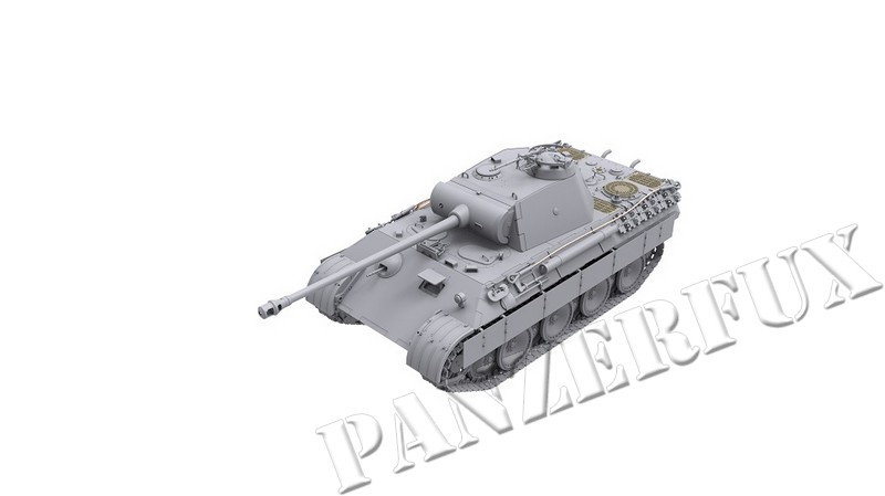 1/35 PzKpfw.V Panther A Early/Mid, Das Werk 35010 - Bild 7
