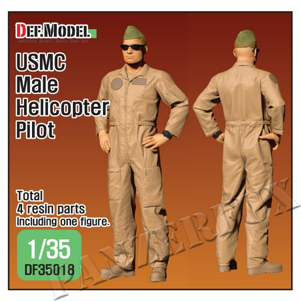 1/35 USMC Male Helicopter Pilot, DEF Model, DF35018 - Bild 1