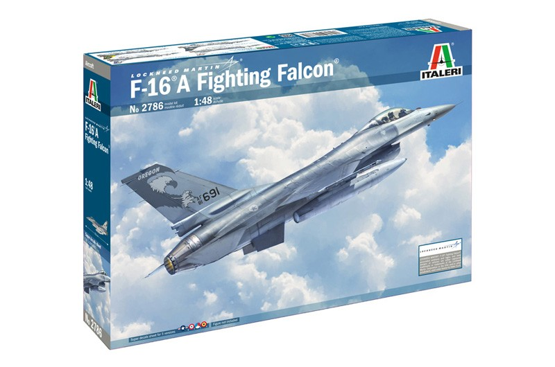 1/48 F-16A Fighting Falcon, Italeri 2786 - Bild 1