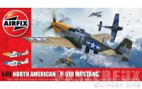 1/48 North American P51-D Mustang(Filletless Tails), Airfix A05138