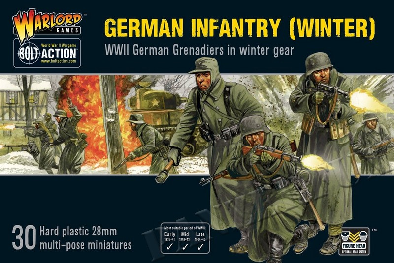 1/56 German Grenadiers in Winter, Warlord Games402012027 - Bild 1