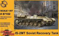1/87 IS-2MT Josef Stalin Bergepanzer, Z+Z, 87102
