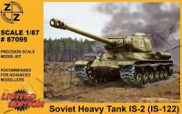 1/87 Josef Stalin IS-2 (IS-122) Soviet Heavy Tank, Z+Z 87095