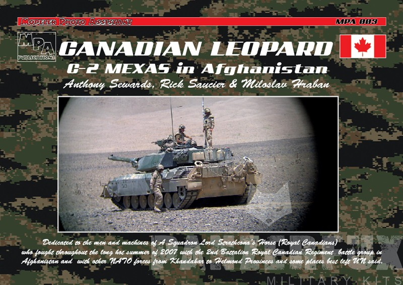 Canadian Leopard C2 MEXAS in Afghanistan - Real Model - Bild 1
