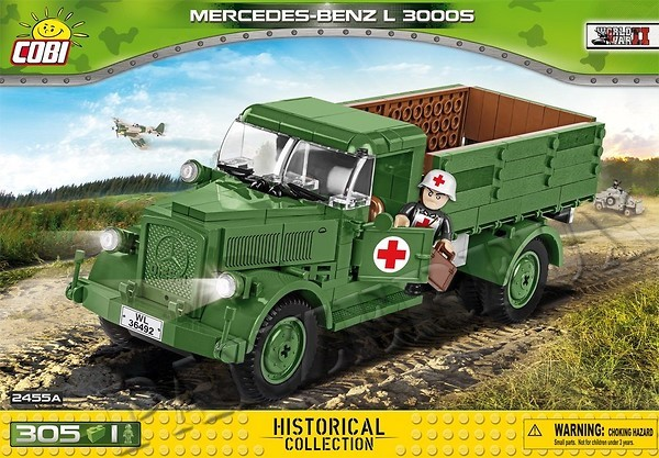 Mercedes Benz L 3000S, Historical Collection, Cobi 2455A - Bild 1