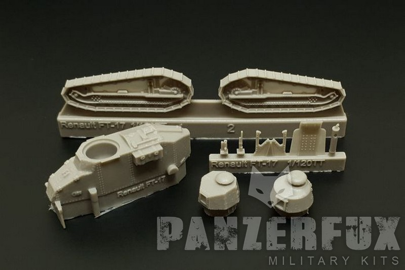 Hauler Models 1//87 RENAULT FT-17 French World War I Tank