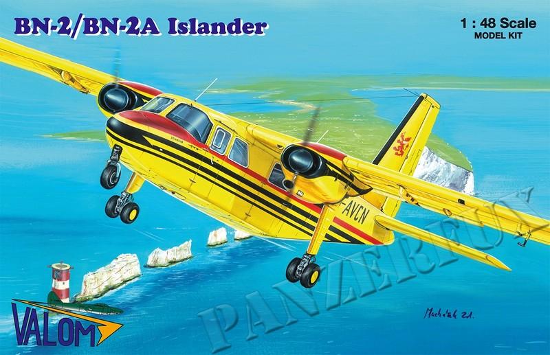 1/48 Britten-Norman BN-2/BN-2A Islander, Valom 48008