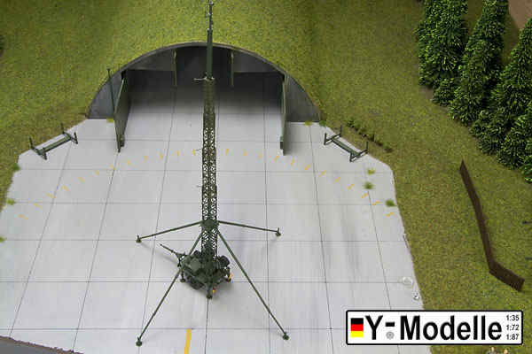 1/72 trailer 1 5 ton, mobile antenna mast, operational, Y-Modell, 72114